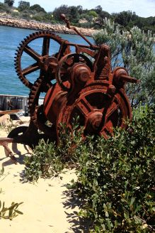 Rusty Winch, Lakes Entrance