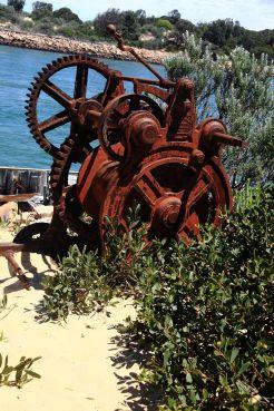 Rusty Winch, Lakes Entrance