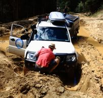 Time to use the winch