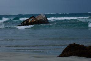 Shipwreck at Cape Banks