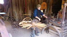 Wheelwright in action
