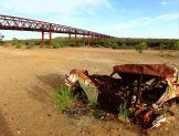 Morning view of bridge