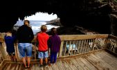 Admirals Arch looking for Seals