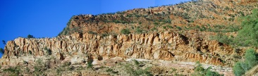 Brachina Gorge view