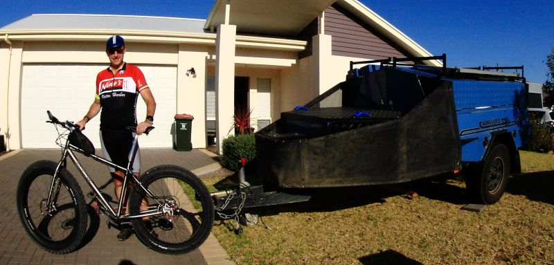 New Fat Bike Camprite tow!
