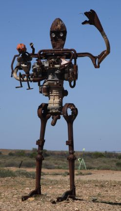 Ironman sculpture