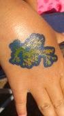 Leafy Seadragon Tattoo