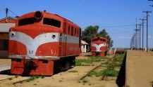 Ghan remnants at Marree