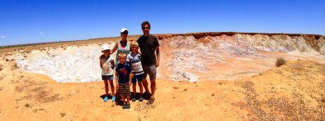 Aboriginal Ochre pits