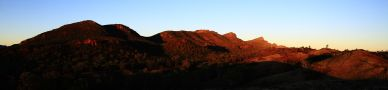 Sunrise on Wilpena