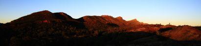 Sunrise on Wilpena