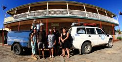 Our drinking buddies at Marree