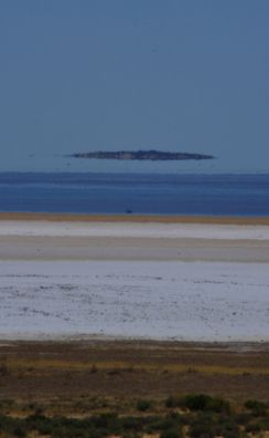 Water in Lake Eyre south