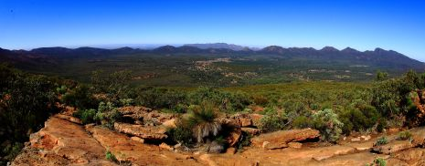 View of Wilpena Pound