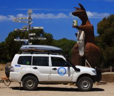 Big Roo at Bordertown
