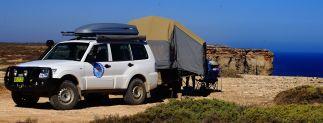 Camp on Bight cliffs