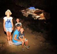 Exploring Murrawijinie caves