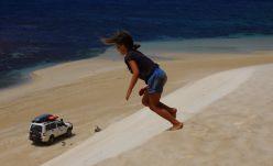 Running down dunes