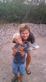 Young River bream