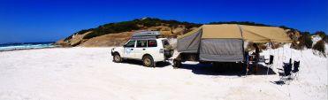 Dunn Rocks camp