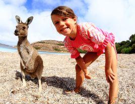 Hannah at Lucky Bay