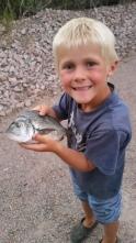 Rod breaking fish!