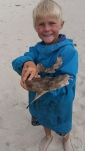 Oscar with Wobbegong Shark