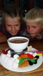 The Chocolate fondue