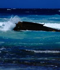 Wreck on Quagi beach