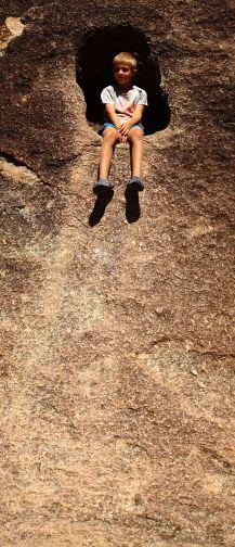 Xavier at Wave Rock