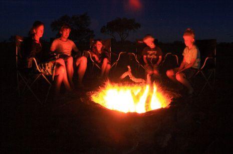 Wooleen campfire