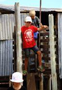 Fun in the Shearing shed