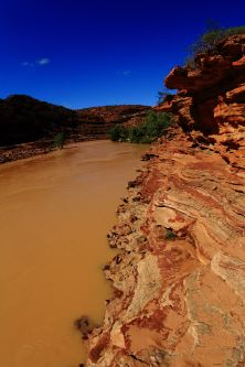 Loop walk by the Murchison river
