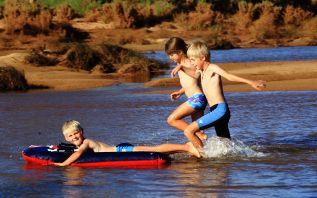 Fun in the Murchison river