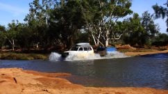 Murchison river crossing