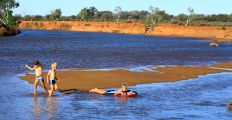 Murchison river at Wooleen
