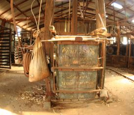 The wool press