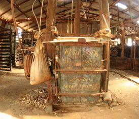 The wool press