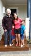 Justine,Steve and boys