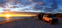 14 Mile Beach sun setting