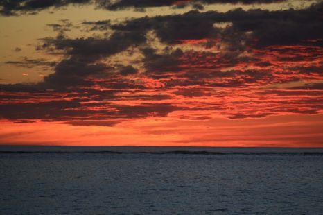 14 Mile beach sunset
