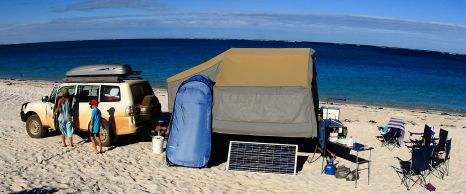 14 Mile beach camp