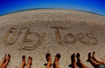 Us at Shell Beach