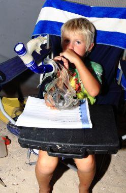 Oscar's snorkel trumpet