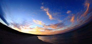 Sunset at Shelter Bay