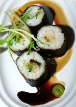 Oyster pearl sushi
