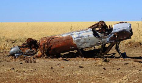 Duncan Road wreck