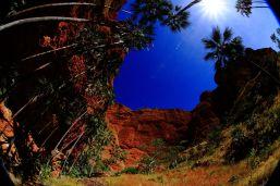 Echidna chasm gorge entrance