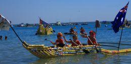 Boat race at the Regatta
