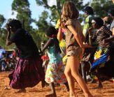 Emu dance at Garma